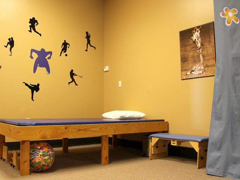 Children's Orthopedic Physical Therapy Treatment Table