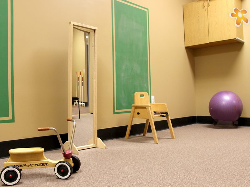Orthopedic Physical Therapy Workroom for children and teens